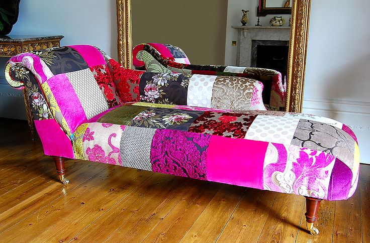 Chaise lounge wildness! This is so creative