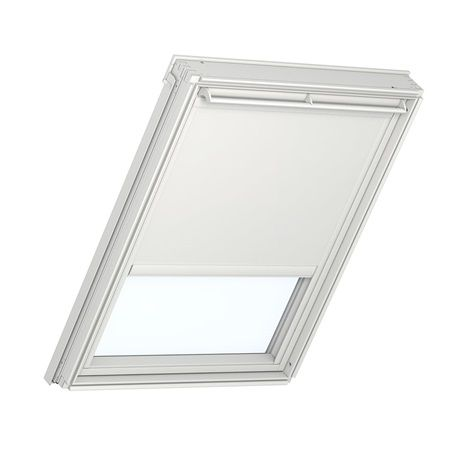 Sky window comes with a solar powered remote control solar blockout blind!
