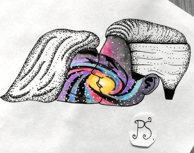 #тату #татуировка #татуэскиз #эскиз #графика #дотворк #дотворктату #космос #портрет #поцелуй #любовь #tattoo #tattoosketch #sketch #graphic #dotwork #dotworktattoo #space #portrait #kiss #love
