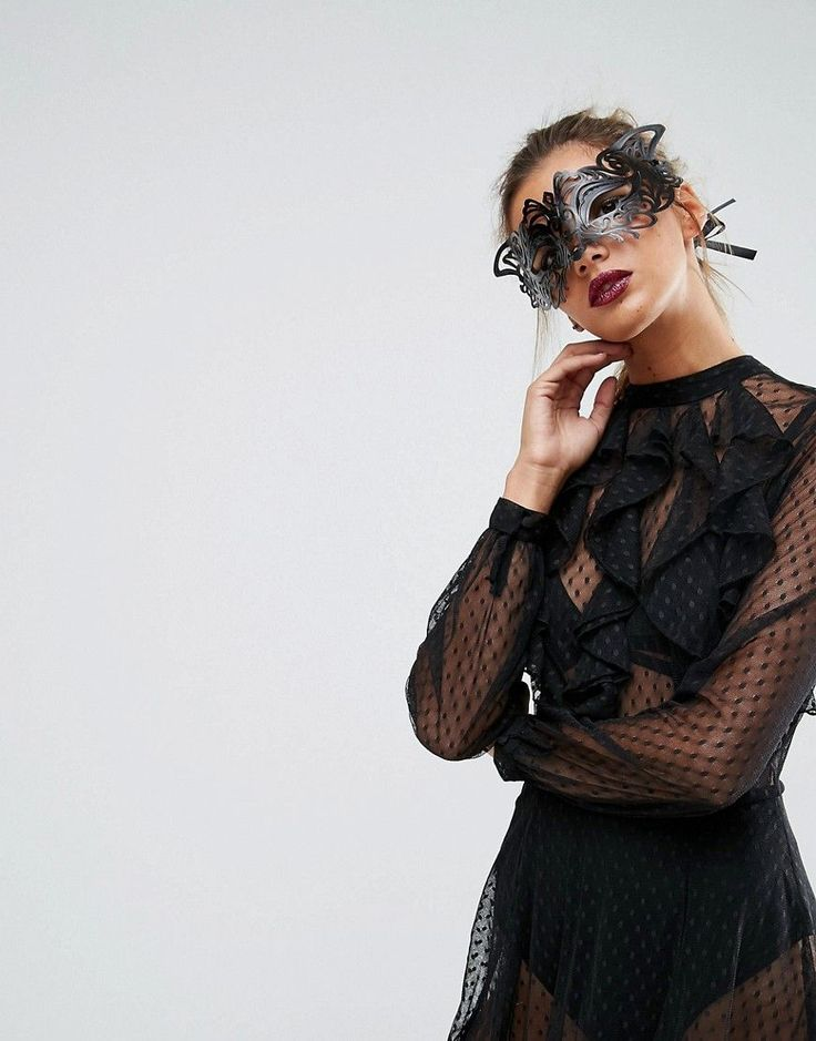 Get this Asos's cocktail dress now! Click for more details. Worldwide shipping. ASOS Halloween Filigree Cut Out Animal Mask - Black: Mask by ASOS Collection, Filigree animal design, Self-tie fastening, 80% Plastic, 20% P olyester. Score a wardrobe win no matter the dress code with our ASOS Collection own-label collection. From polished prom to the after party, our London-based design team scour the globe to nail your new-season fashion goals with need-right-now dresses, outerwear, shoes and…