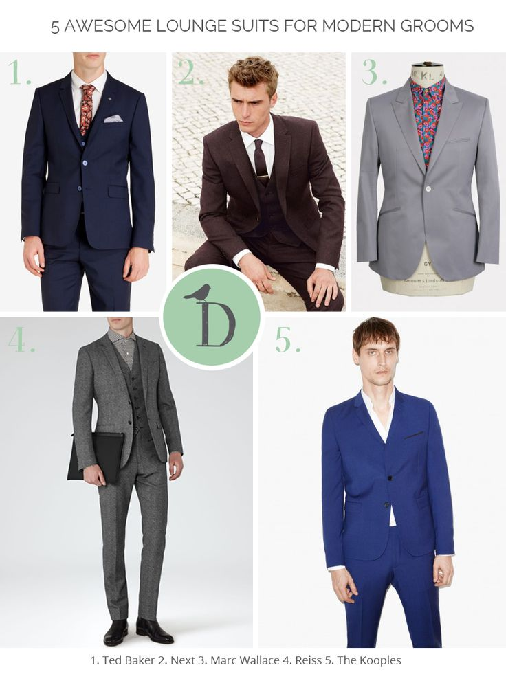 If you're not a morning suit kind of groom, where do you start with finding a wedding outfit? The lounge suit is fast becoming the standard go-to for modern grooms. It gives a less formal look, and more of a chance to show off your style. Finding the best lounge suit for your wedding is all about finding that balance between looking like you've come straight from the office, or feeling too outlandish to be comfortable. Our advice, stick to some good classic tailoring.