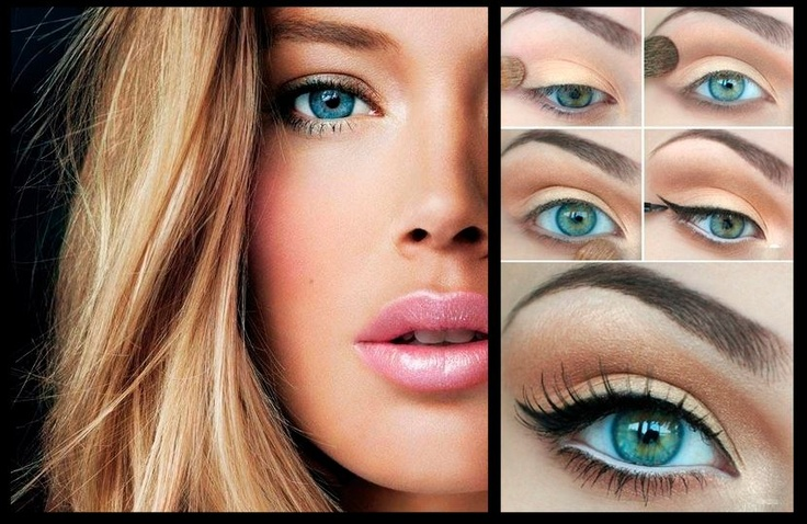 Maquillaje natural con un toque pin up eyeliner make up pinterest maquillaje and natural - Maquillage pin up ...