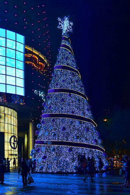 Christmas tree in Singapore!! Been to Singapore and it is an amazing place!!