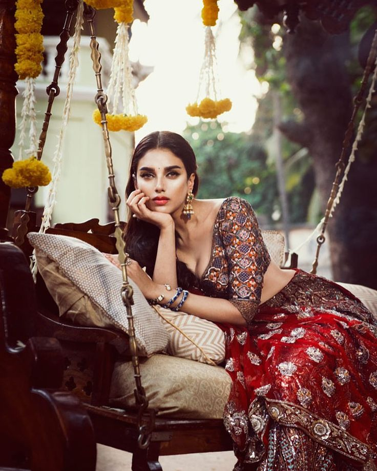 "528 Likes, 4 Comments - VOGUE India (@vogueindia) on Instagram: ""@aditiraohydari is bridal goals in this frame. Get a head start on planning your big day with…"""
