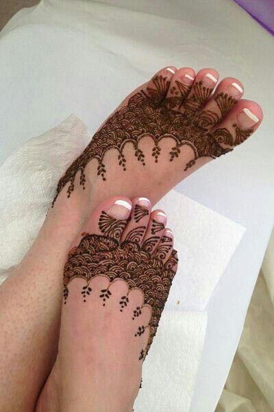 Nice henna art...