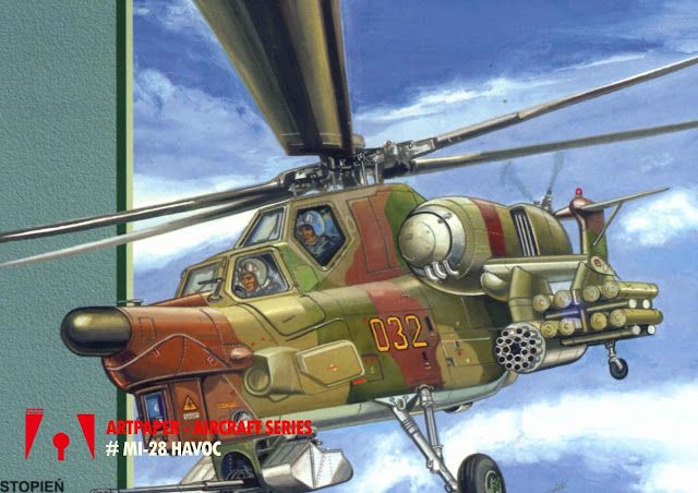 Workshop Artpaper: Mi-28 Havoc