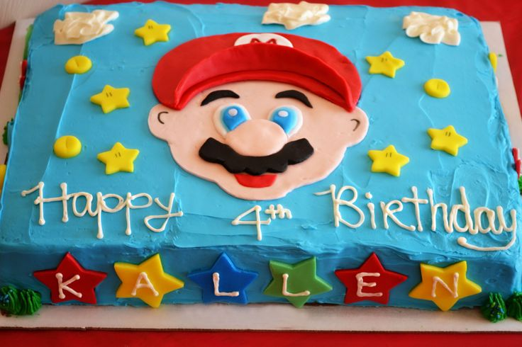 Super Mario Brothers party! Cake and food ideas for a Mario themed party - Life In The Lofthouse