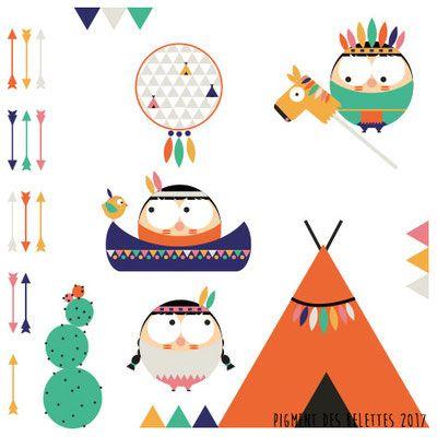 Petits sioux ©Pigment des Belettes