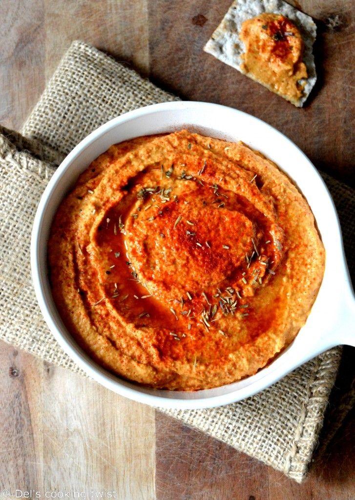 Roasted Paprika hummus