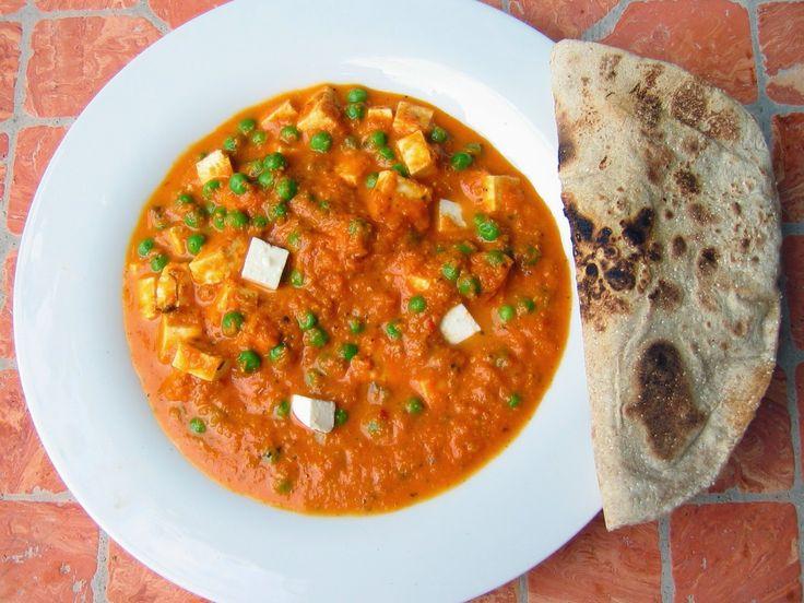 un mondo di ricette: matar panir - cucina indiana