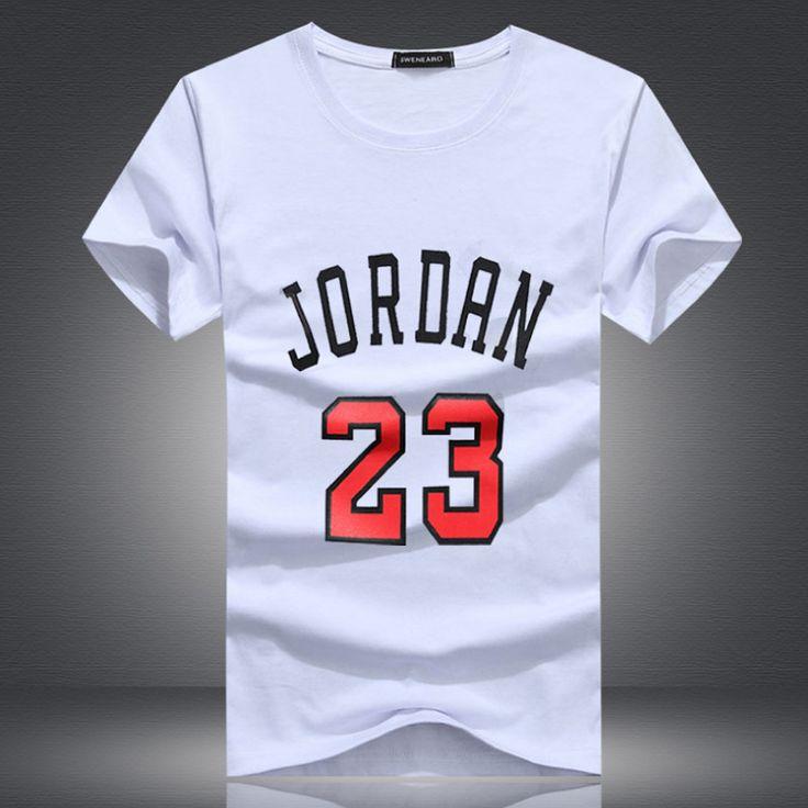 Brand Clothing Jordan 23 Men T-shirt Swag T-Shirt  Cotton Print Men T shirt Homme Fitness Camisetas Hip Hop tshirt Men 5XL