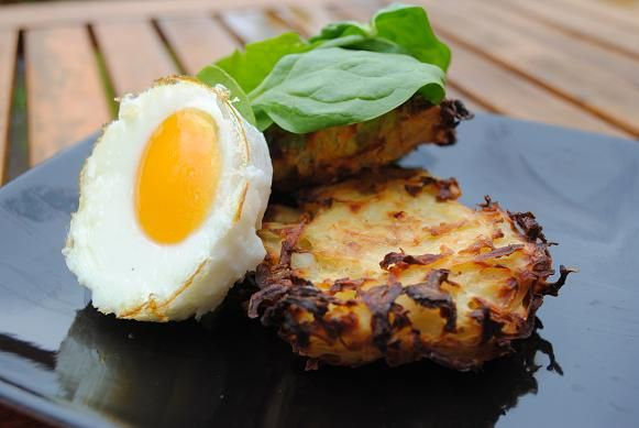 Healthy Oven Baked Hash Browns