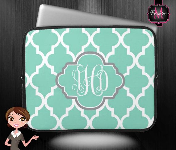 MacBook Air/Pro Sleeve, Laptop, Chrome Book and Computer Sleeve, Personalized & Monogrammed on Etsy, $29.50