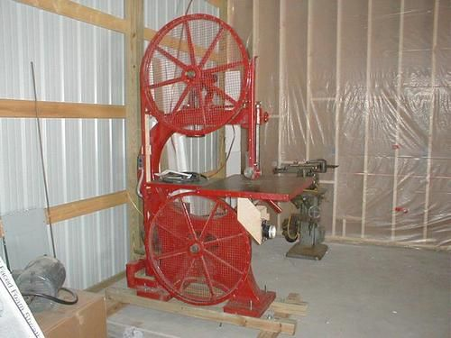 """Photo Index - Crescent Machine Co. - 36"""" bandsaw serial #36834 