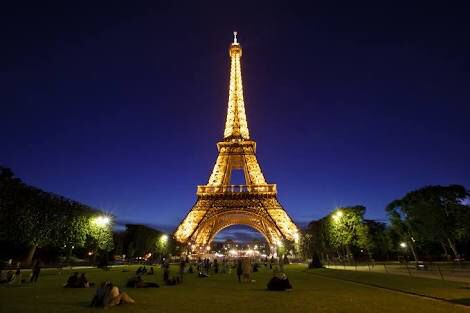 The Eiffel Tower is just magical!