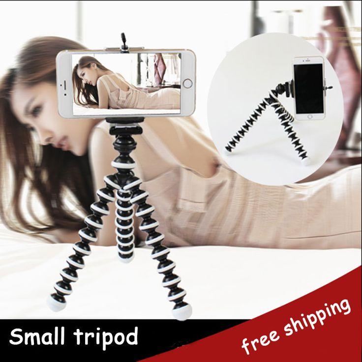 Universal mini trípode flexible del pulpo gorillapod trípode stander para gopro cámara iphone 6s samsung xiaomi teléfono android