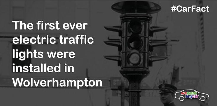 The first electric traffic lights were installed in Wolverhampton in 1927 #CarFact http://bit.ly/speedycarsale