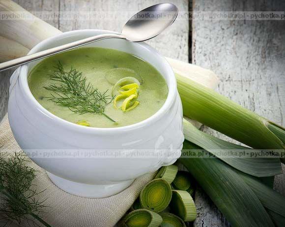 Niech w twoim domu zawsze gości smaczna zupa.Zupa ziemniaczana z porami Oliwii. Składniki zupy: ziemniaki, pory, przyprawy.