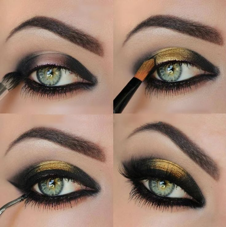 25+ best ideas about Black eyeshadow tutorial on Pinterest ...