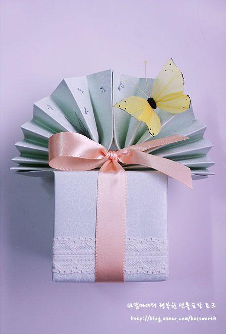 사랑하는 엄마의 생신 그 후.../ 화장품 선물포장 & 현금봉투 : 네이버 블로그