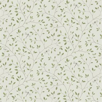 Create a romantic and dreamy look in your home with the lovely Felix wallpaper from Sandberg Tyg