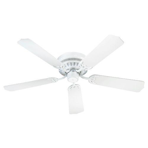 Quorum Lighting Hugger White Ceiling Fan Without Light | 11425-6 | Destination Lighting