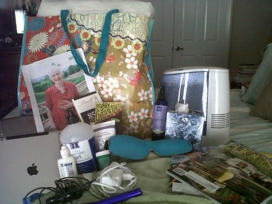 A Caregiver's Hospital Survival Kit - 20 must-have items.