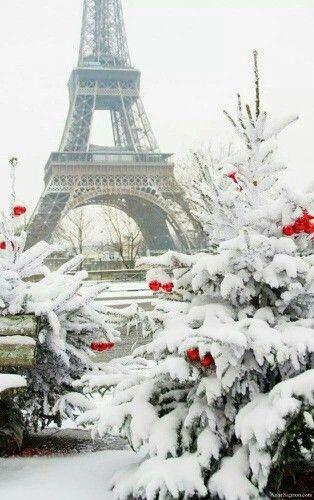 winter in Paris.