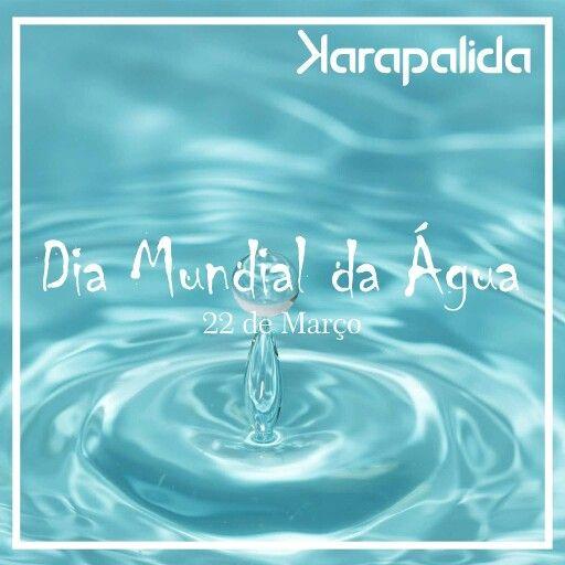 Cuide, preserve! A água é o futuro das nossas crianças.   #karapalida #diamundialdaágua