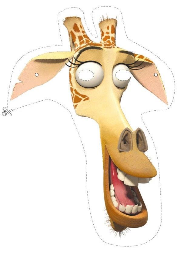 Melman mask