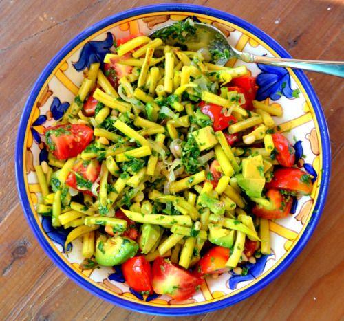 """Résultat de recherche d'images pour """"salade de haricots jaunes"""""""