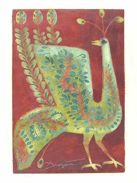 JózsefDomjan (born 1907) - Peacock