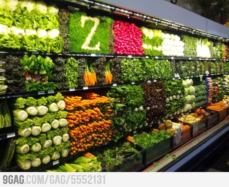 I would eat more veggies if I shopped here.