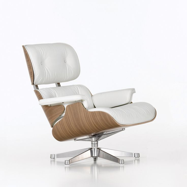 In White Even More Beautiful? Eames Lounge ChairsCharles ...