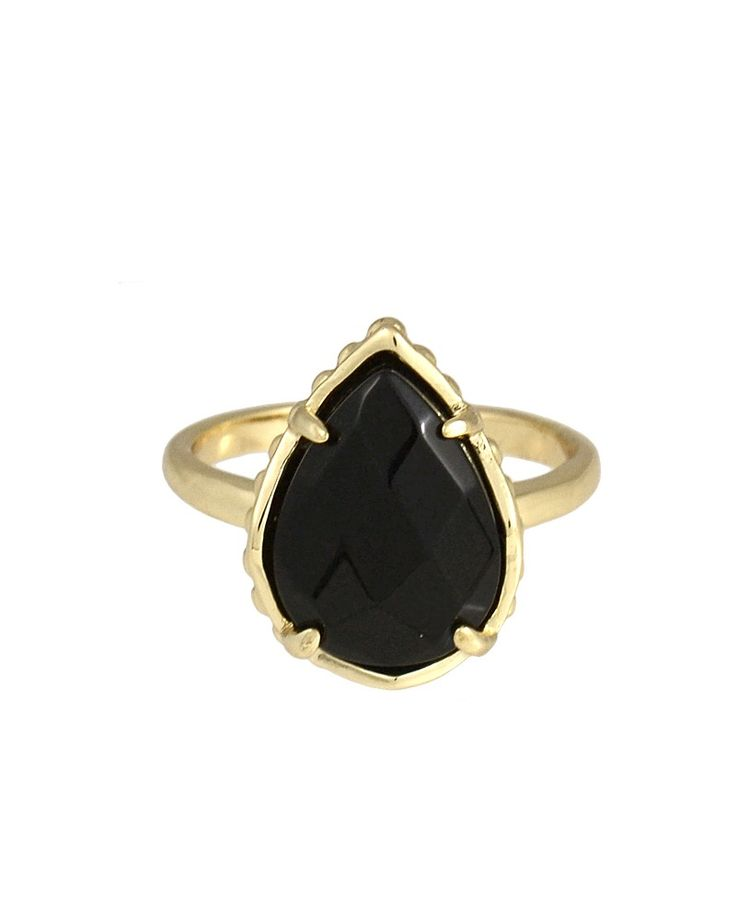 Daisy Ring in Black - Kendra Scott Jewelry (uhh hello kendra scott?? where have you been all my life?!)