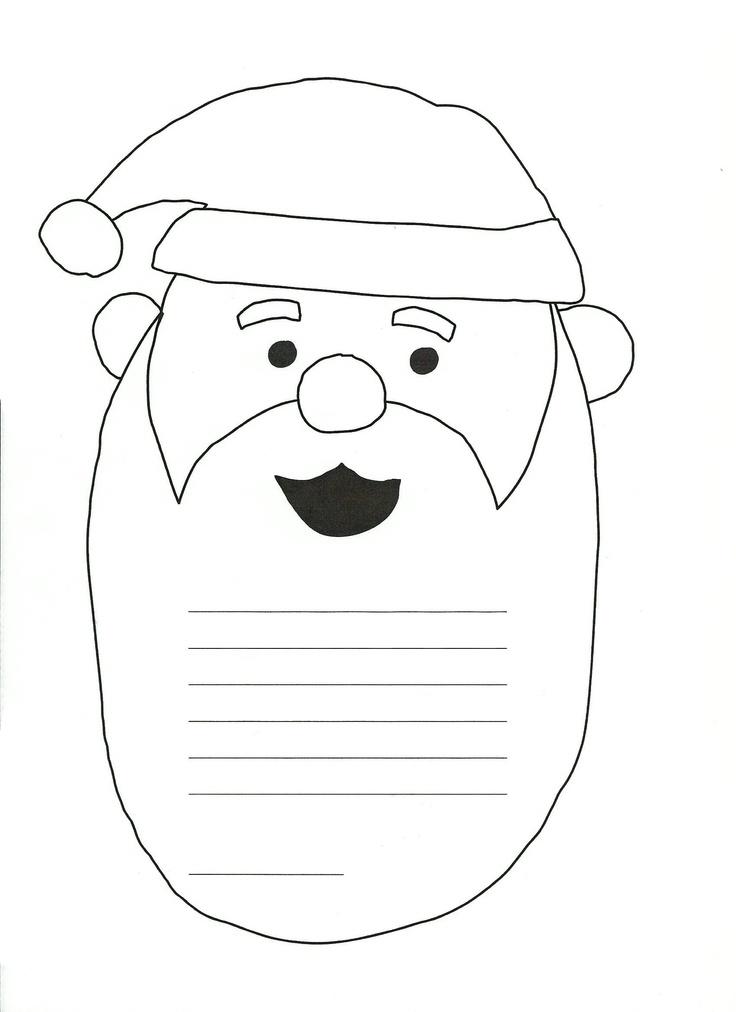Kirje Joulupukille (printattava).