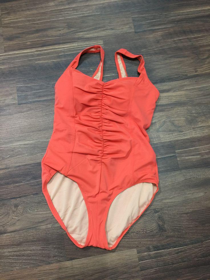 Orange - One Piece Swimsuit