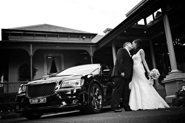 Wedding Cars - Black Chrysler 300 SRT  Black Beauty Limousines  By Con Tsioukis Alex Pavlou Photography