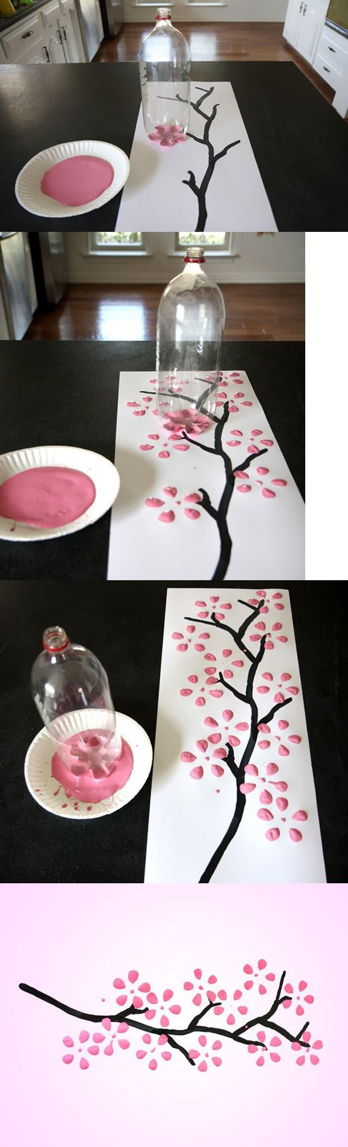 diy painting wall crafts http://www.womans-heaven.com/diy-custom-wall-painting/