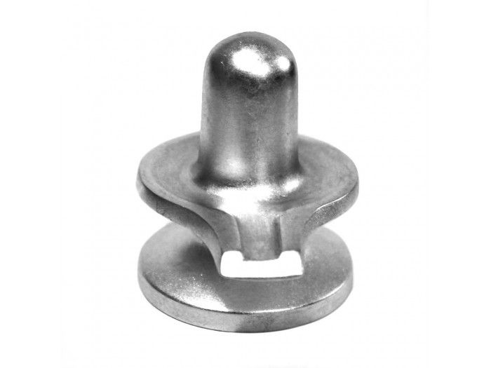 Shivling made of pure solidified mercury (Parad). A Shivaling has three distinct parts which are considered as portions of Brahma, Vishnu and Shiva. The lower part represents Brahma, the middle Vishnu and the upper and the most prominent represents Shiva. http://vedicvaani.com/Parad-Shivling-480-gms . Thus, Shivling represents all the three powers in one as the Param Braham or Supreme Shiva.