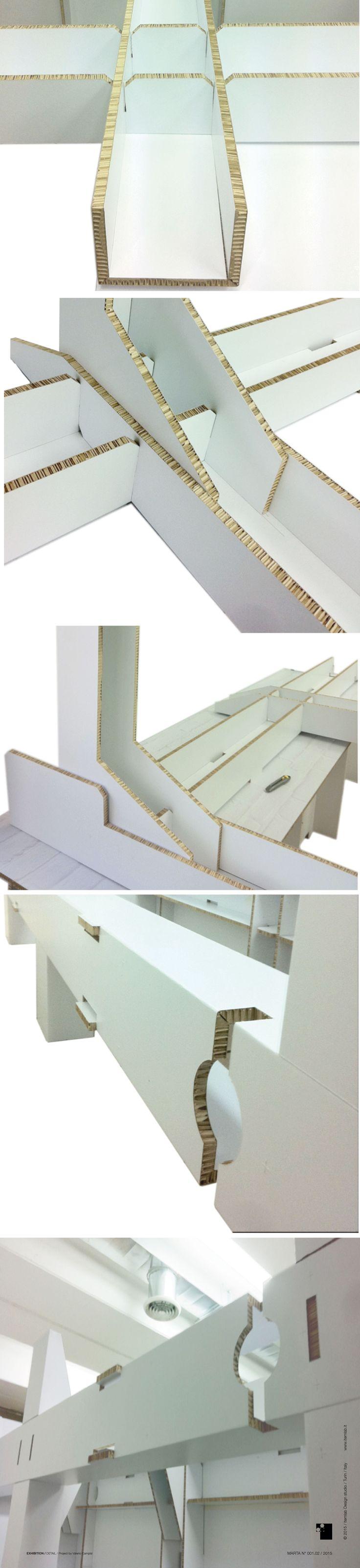 #Cardboard #Exhibition #Detail #Structure #itemlab