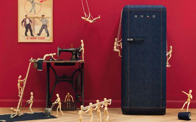 Los frigoríficos Smeg en la decoración de cocinas     DECOFILIA.com    #cocinas #kitchens