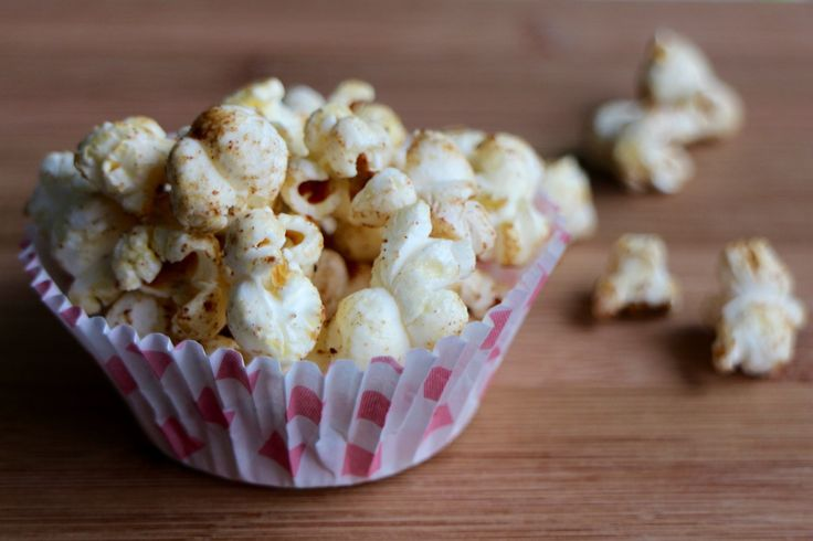 Honig-Zimt-Popcorn; Healthy and Sweet Popcorn