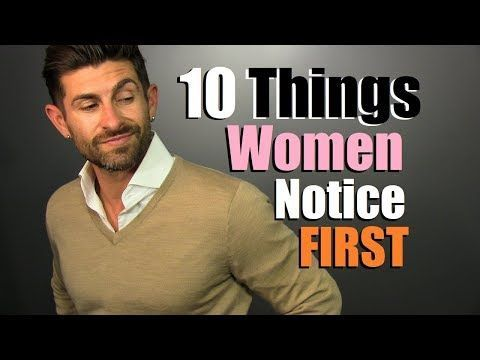 The Top 10 Men's Features Women Notice First! / I Am Alpha M