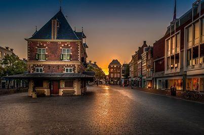 De Waag in Leeuwarden, Culturele Hoofdstad van Europa in 2018.