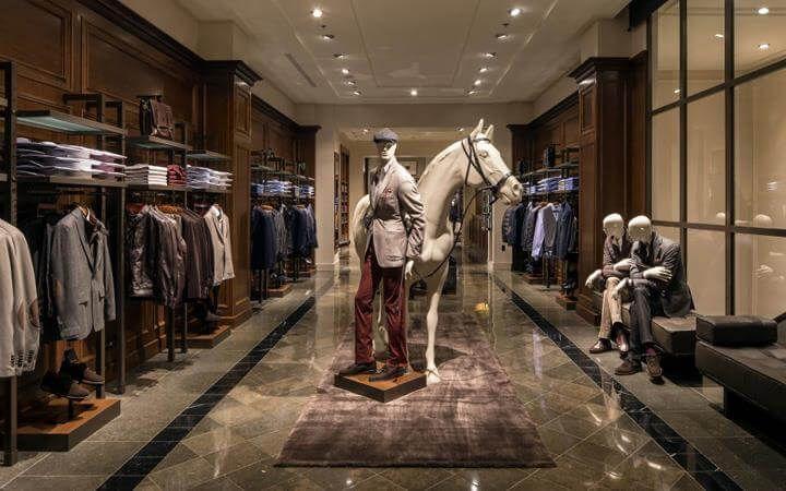 Mens Shop Interior Design Clothing Store Design Showroom Design Boutique Interior Design