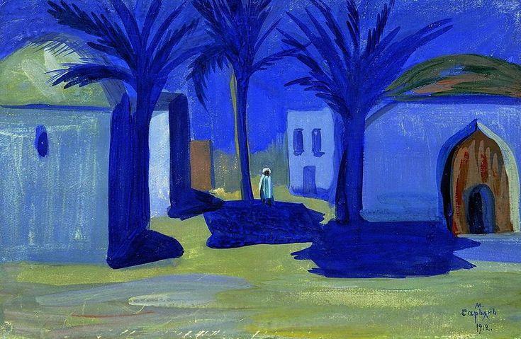 lilacsinthedooryard:Martiros SaryanEgyptian Night, 1912