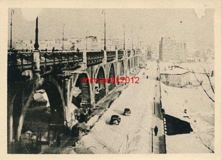 Foto, Sanitätsdienst, Brücke über die Weichsel, Warschau, 1940, Polen | eBay
