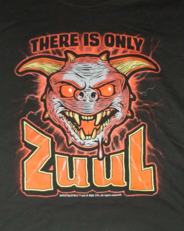 There is Only Zuul Ghostbusters T-shirt Nerd Block Exclusive 3XL New