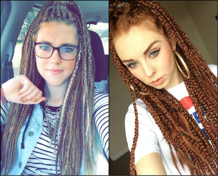 White Girl Box Braids Hairstyles To Try Right Away // #away #braids #Girl #Hairstyles #right #White